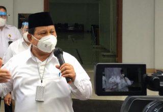 Menteri Pertahanan Prabowo Subianto. /Dok. Kemhan